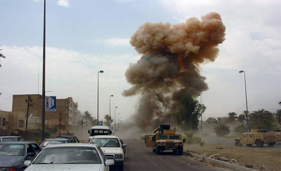 إصابة مدير الأمن العراقي بجروح في هجوم بعبوة ناسفة