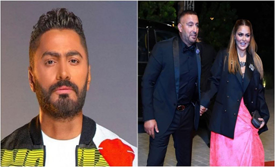 أحمد السقا عن حضور حفل تامر حسني: معزمنيش.. وزوجته تقاطعه (فيديو)