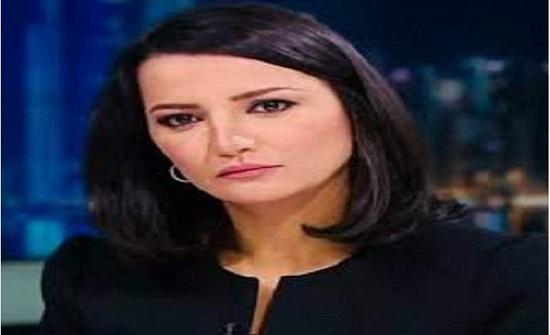 """مذيعة الجزيرة غاضبة : """" لعنة الله عليكم يا أشباه الرجال """""""