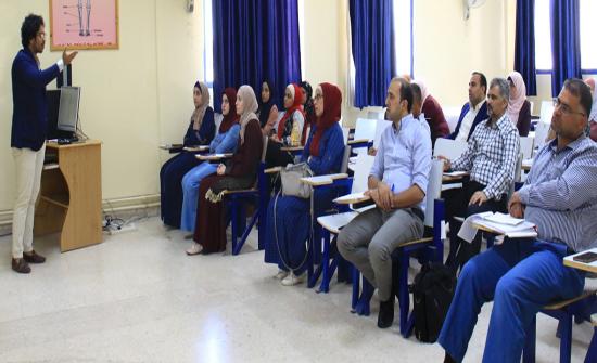 جامعة الزرقاء تقيم ورشة عمل للتدريب على استخدام قواعد البيانات الإلكترونية