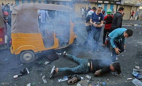 مقتل متظاهرين اثنين في تجدد الاشتباكات جنوبي العراق