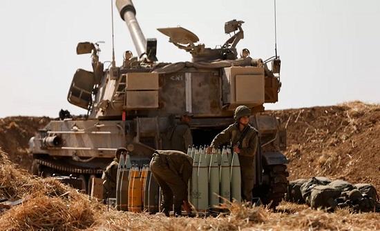 الدفاع الإسرائيلية تستدعي 9 آلاف احتياطي وتحشد لعملية برية في غزة