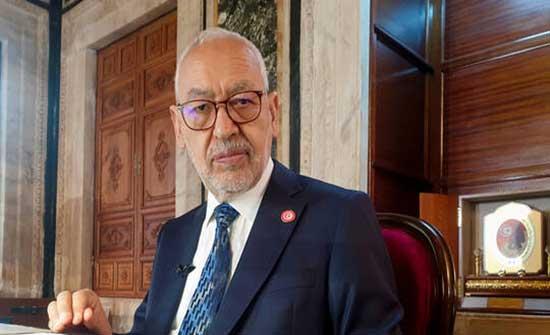 إصابة رئيس البرلمان التونسي ورئيس حزب النهضة الغنوشي بفيروس كورونا