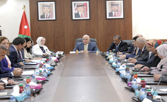 """بالصور : """"البرلمانية الأردنية التركية"""" تلتقي وفدا نيايبا تركيا"""