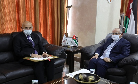 الطويسي يبحث مع السفير التركي تنظيم نشاطات مشتركة في مئوية الدولة