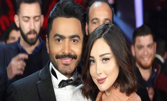 بسمة بوسيل تؤكد مصالحتها مع تامر حسني - بالصور