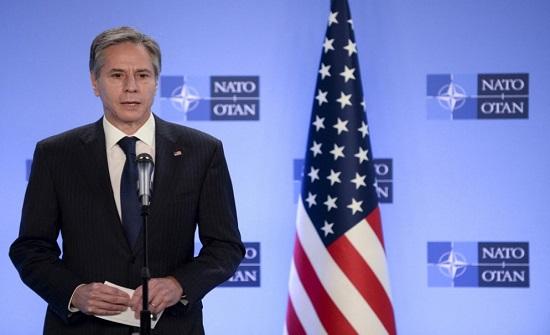 وزير الخارجية الأميركي: العنف يبعدنا أكثر عن حل الدولتين