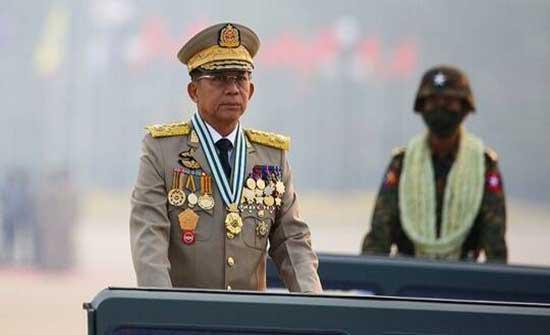 رويترز: رئيس مجلس ميانمار العسكري يزور روسيا