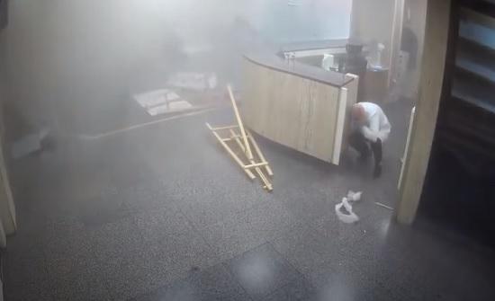 لطقات جديدة لانفجار بيروت من كاميرات مستشفى الجامعة اللبنانية الأمريكية- (شاهد)