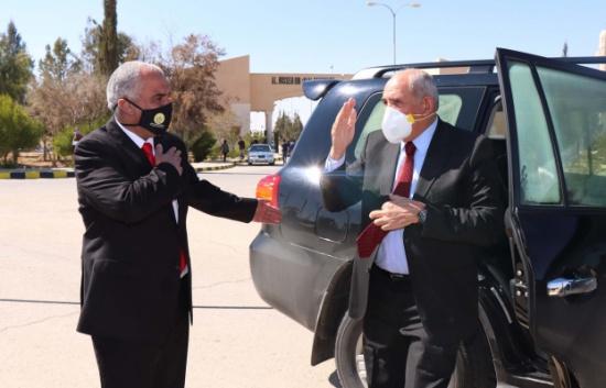 إفتتاح مبنى الملك المؤسس في جامعة الحسين بن طلال