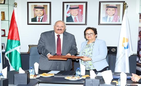 اتفاقية لبرنامج منح التعليم السوري الأردني بين الألمانية الأردنية والزرقاء