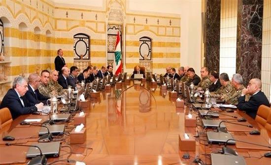 لبنان: المجلس الأعلى للدفاع يعطي الغطاء السياسي لمواجهة أي اعتداء إسرائيلي