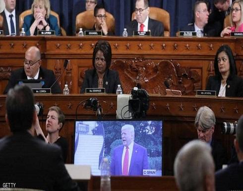 لجنة قضائية تقر مساءلة ترامب.. والبيت الأبيض يتحدث عن مهزلة