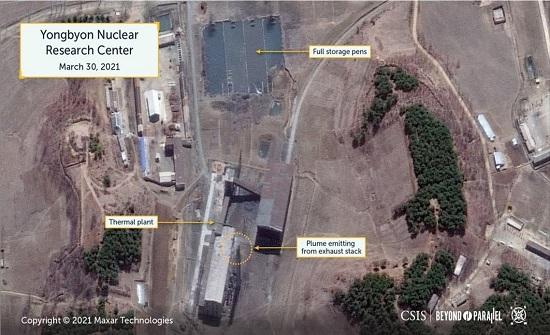 صور بالأقمار الصناعة تظهر تطورا خطيرا في برنامج كوريا الشمالية النووي