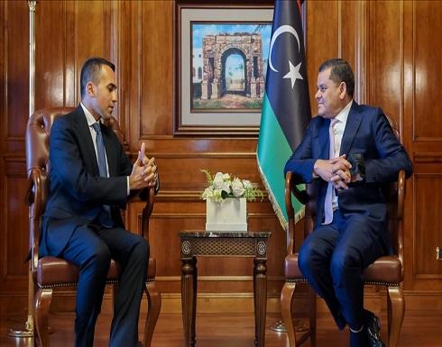 طرابلس .. الدبيبة يستقبل وزير الخارجية الإيطالي