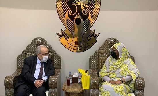 وزيرة خارجية السودان تؤكد لنظيرها الجزائري سعي الخرطوم لحل دبلوماسي لأزمة سد النهضة