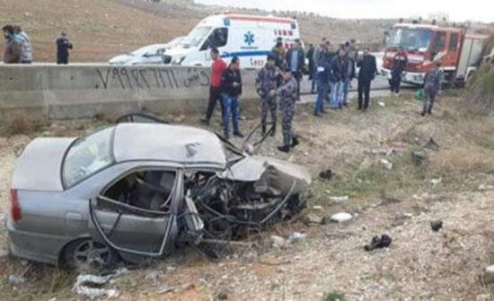 وفاتان في حادث تصادم على الطريق الخلفي جنوب العقبة