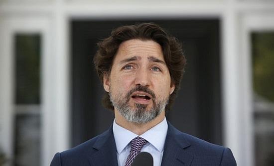 محتجون على قيود كورونا يعتدون على رئيس الوزراء الكندي