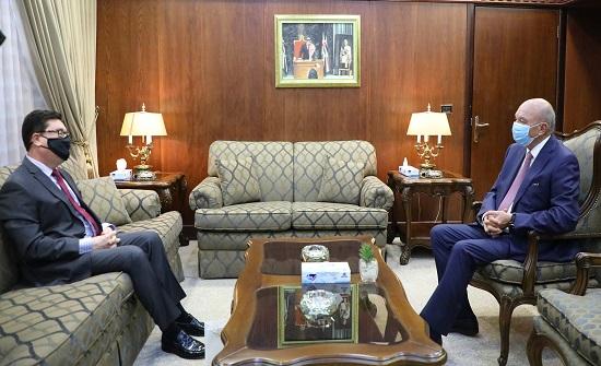 رئيس مجلس الاعيان يلتقي السفيرين السويدي والهنجاري