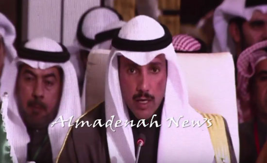 الغانم : برلمان الكويت يثمن مواقف الملك تجاه القضية الفلسطينية