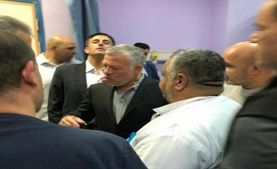 بالصور :الملك يتفقد مستشفى التوتنجي بزيارة مفاجئة