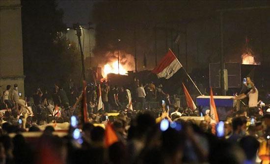"""العراق.. إضرام النيران بمنزل قائمقام """"الغراف"""" بذي قار"""