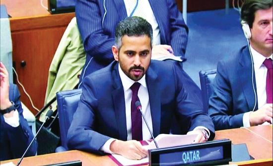 مسؤول قطري يدعو لتكثيف الجهود للقضاء على الإرهاب