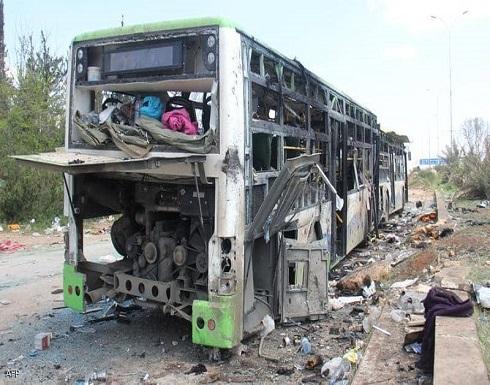 سوريا.. قتلى وجرحى في هجوم استهدف حافلة
