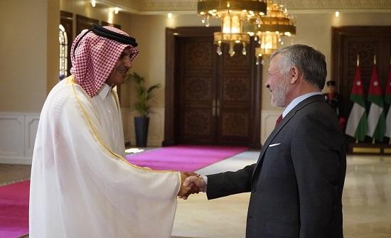 بالاسماء : الملك يتقبل أوراق اعتماد سفير قطر وسفراء آخرين