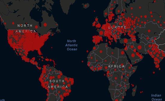 عدد الإصابات بفيروس كورونا عالميا يتجاوز 40 مليونا وتوفي أكثر من مليون