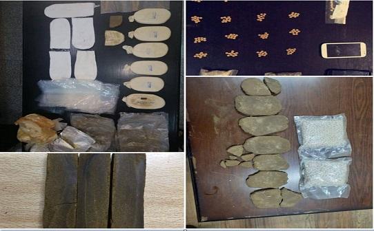 بالصور  : القبض على 29 متورطا بقضايا مخدرات