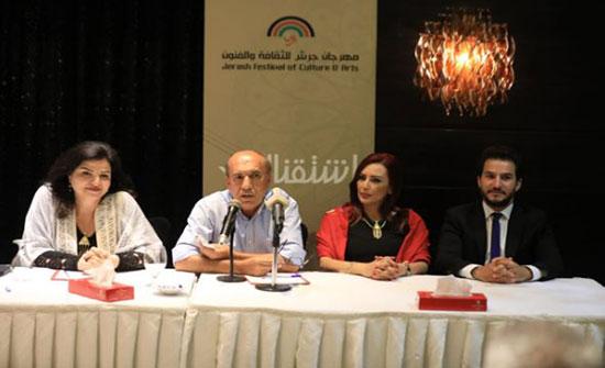 """فنانون ومبدعون اردنيون وعرب يعبرون عن سعادتهم بالمشاركة في """"جرش"""""""