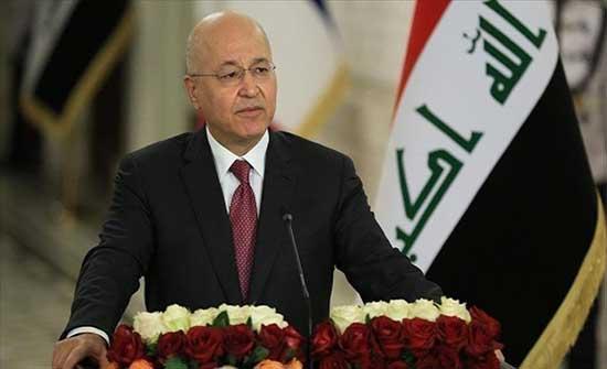 الرئيس العراقي يوقع المرسوم الخاص بالانتخابات المبكرة