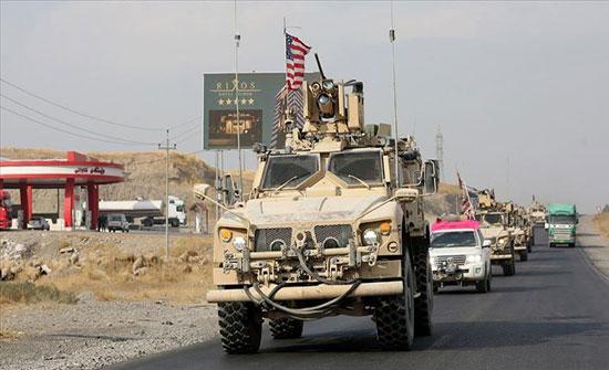 قوات أمريكية تتمركز غربي الرقة بعد انسحابها من المناطق الحدودية