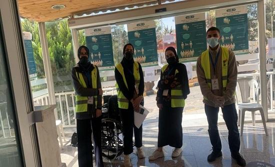 كلنا الأردن تنفذ حملة تطوعية لمساندة جهود اعطاء لقاحات كوفيد-19