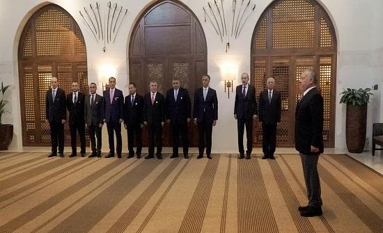 سفراء جدد يؤدون اليمين القانونية أمام الملك
