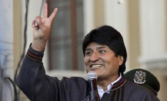 موراليس يتصدر نتائج الانتخابات الرئاسية في بوليفيا