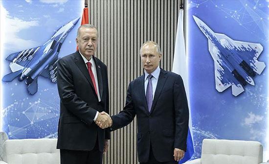 موسكو.. بدء اللقاء المرتقب بين أردوغان وبوتين
