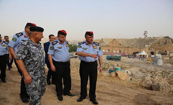 الأمن العام وقوات الدرك تنهيان الاستعدادات الأمنية لمهرجان جرش