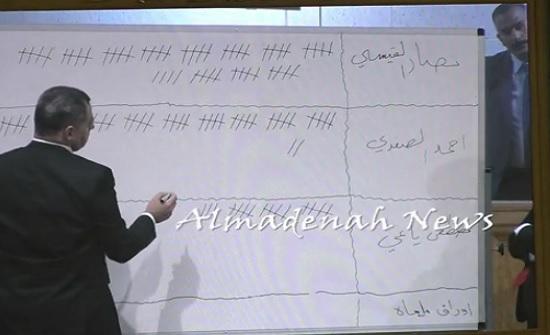 بالفيديو : هكذا فاز نصار القيسي على ياغي والصفدي في انتخابات النائب الأول