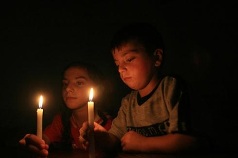 فصل التيار الكهربائي عن مناطق شمال الكرك