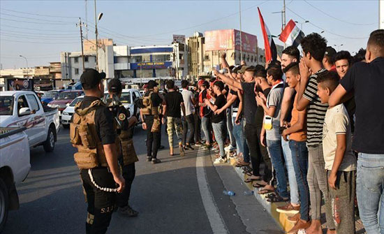 الحكومة العراقية ترسل قوات من الجيش لمحافظة الديوانية