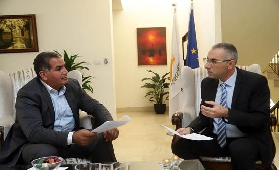 السفير القبرصي: الاردن عامل استقرار في منطقة الشرق الاوسط