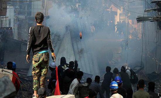 اشتباكات في بغداد.. وإعفاء وكيل وزارة الداخلية