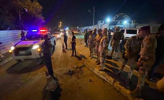 العراق..هجوم صاروخي يستهدف قاعدة أمريكية على حدود الكويت