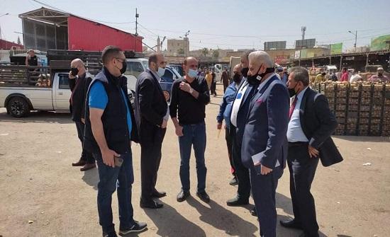 بلدية إربد تدرس عروضا استثمارية لإنشاء سوق مركزي جديد