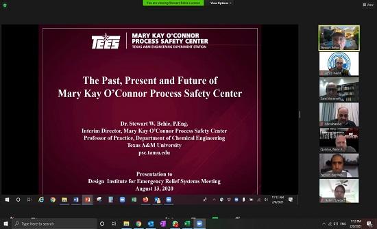 بحث توقيع اتفاقية بين نقابة المهندسين وجامعة تكساس الأميركية