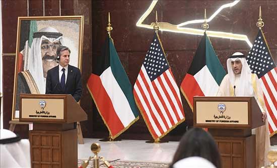 بلينكن يشكر الكويت على إنجاح جهود الإجلاء من أفغانستان