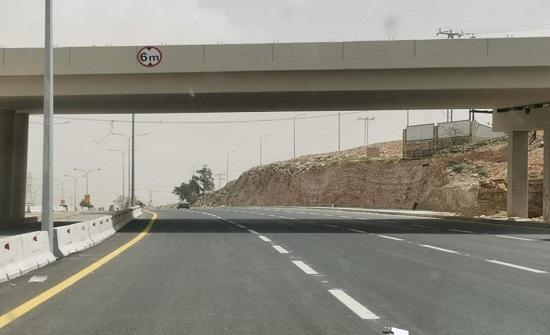 إنهاء أعمال جزء من مشروع حافلات التردد السريع عمان - الزرقاء