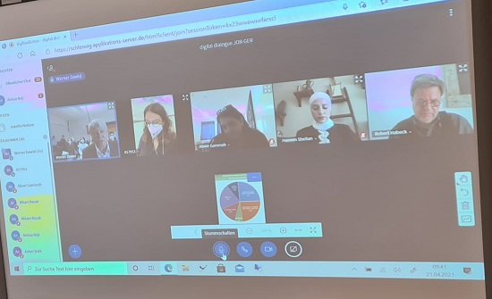 اختتام مشروع الحوار الطلابي الألماني الأردني